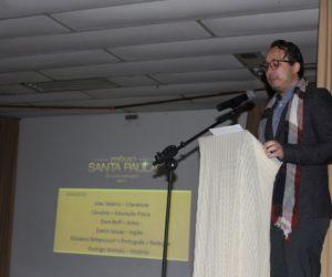 Professor Alex Valério, Coordenador do projeto